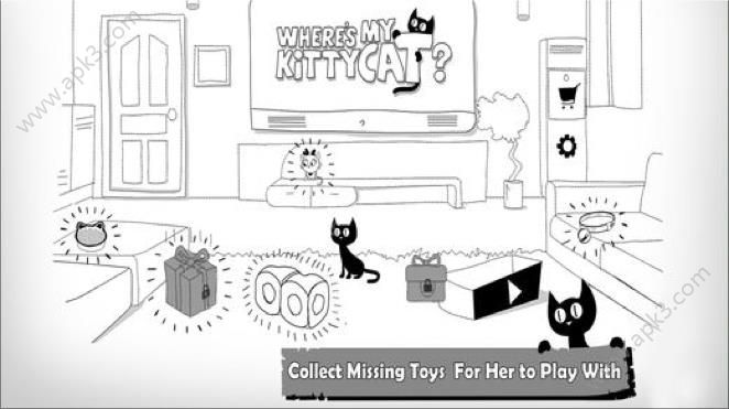 wheres my kitty cat攻略无限鱼干内购破解版图4: