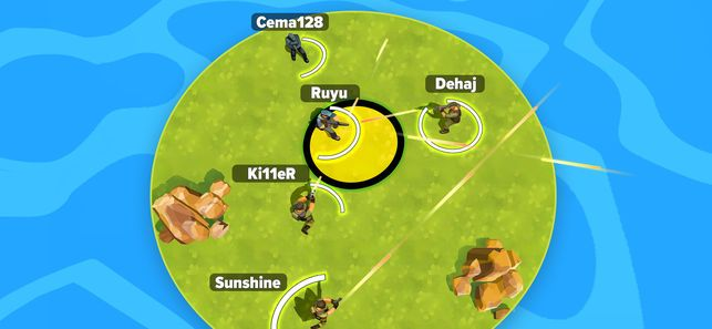 Island Battlegrounds.io游戏中文联机版下载(岛屿大作战)图1:
