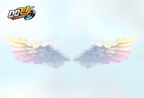QQ飞车圣洁天使羽翼首发 QQ飞车冬日饰品上线曝光[多图]