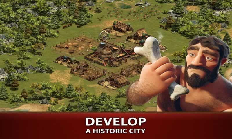 帝��的建立游�蛑形�h化版(Forge of Empires)�D片1