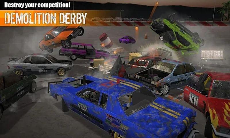粉碎汽�3中文�h化破解版(Demolition Derby 3)�D片2
