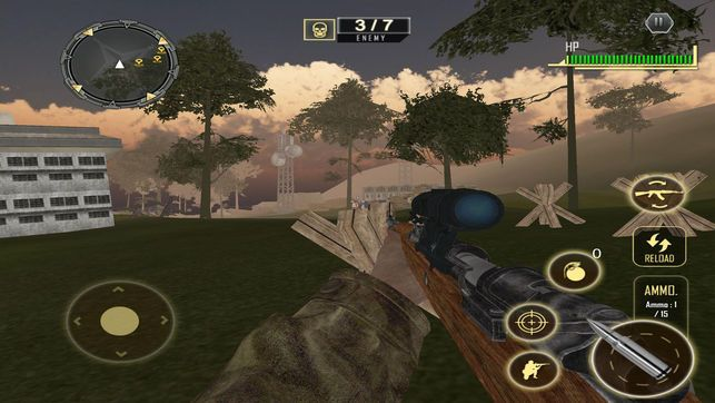 War Shooting Survival游戏安卓版图片2