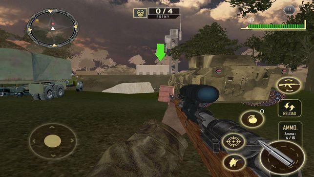 War Shooting Survival游戏安卓版图片1